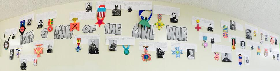8th Grade History Civil War Project
